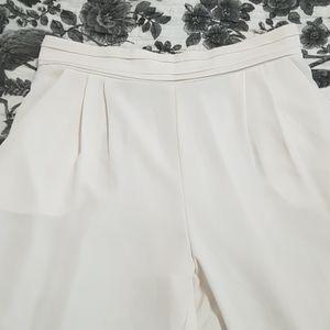 Off white light pants